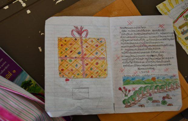 Lettres de filleuls thaï