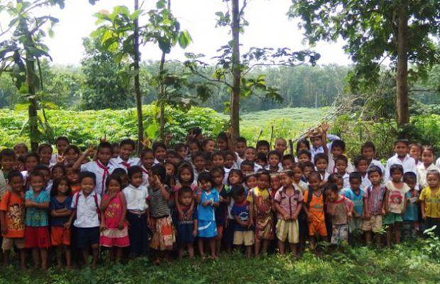Les enfants de l'école ©Enfants du Mékong