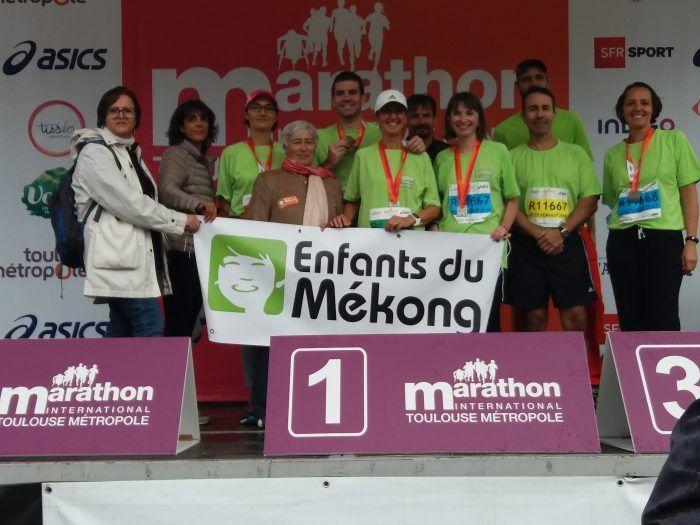 La délégation 31 mouille le maillot pour soutenir Enfants du Mékong