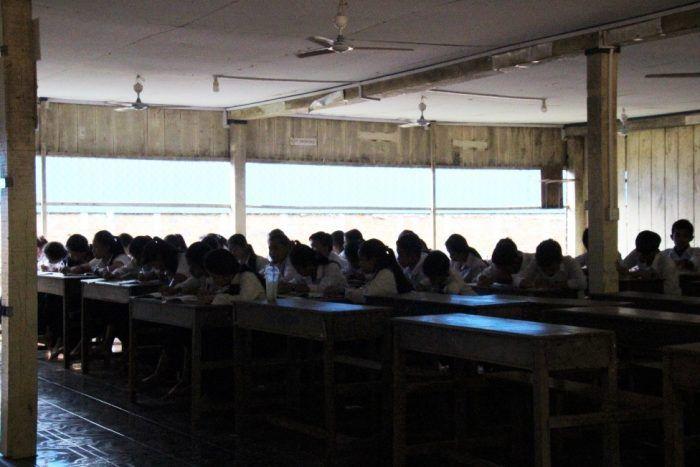 Une heure de cours au centre d'Enfants du Mékong ©Enfants du Mékong