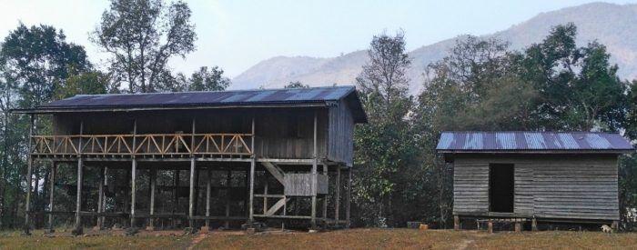 Profil actuel du foyer avec seulement le premier étage pour les filles et la cuisine séparée
