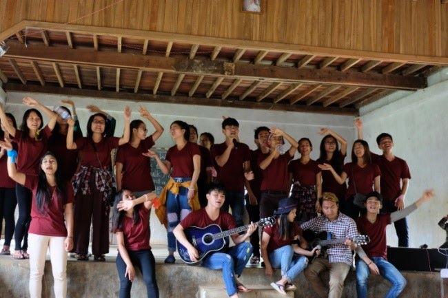 Toujours prêts à chanter en cœur ©EnfantsduMékong
