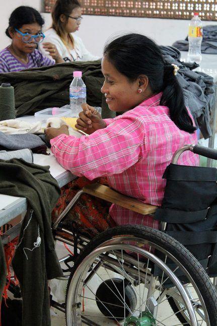 Les employés bénéficient d'une garderie gratuite, d'un logement et d'une aide pour leurs frais médicaux ©Marie-Charlotte Noulens