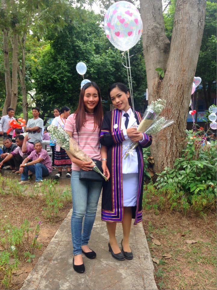 Soumalee, le jour de la remise de diplôme ©Enfants du Mékong
