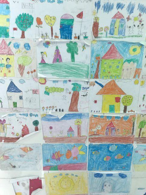 Quelques dessins d'élèves
