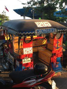 Tricycle local ! ©Marjolaine F., bambou Philippines