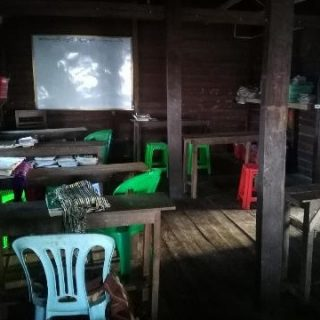 birmanie locaux mindat B-2483 Construction d'un foyer pour les lycéennes de Mindat