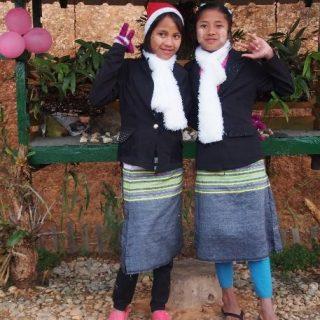 birmanie jeunes B-2483 Construction d'un foyer pour les lycéennes de Mindat