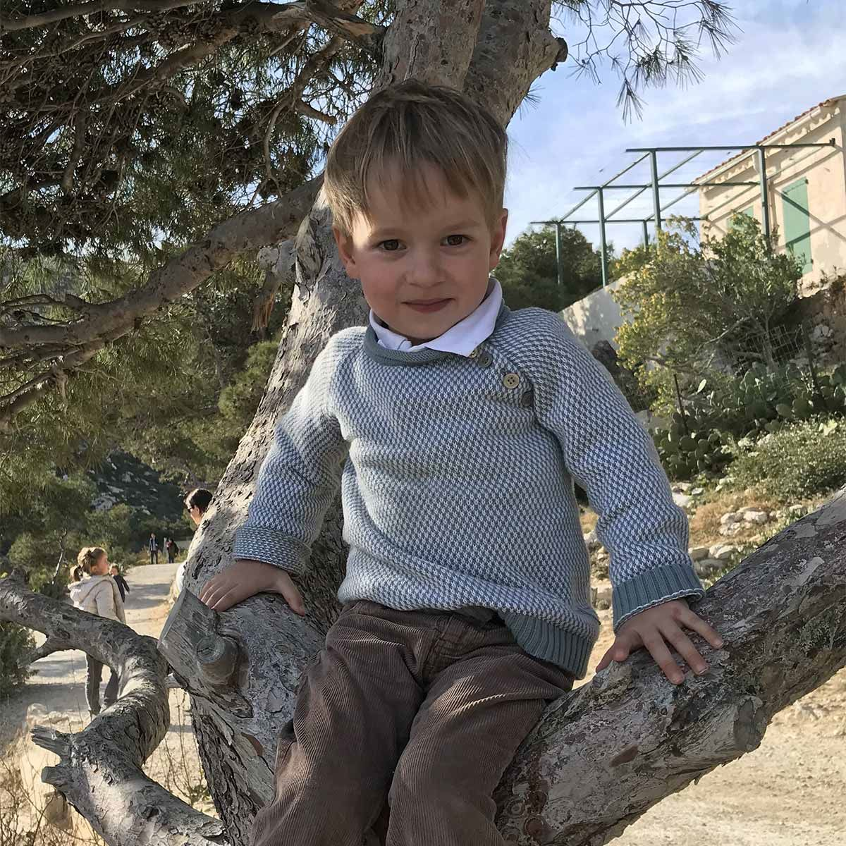 Portrait d'ABOVILLE Guillaume à 3 ans