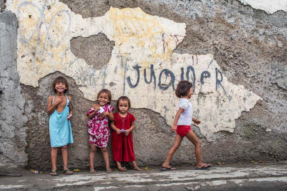 Enfants des rues de Manille ©Antoine Besson