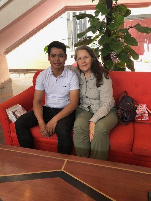 Luong et Yolaine, quelques années plus tard !
