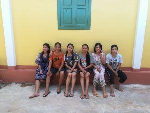 Les 6 étudiantes