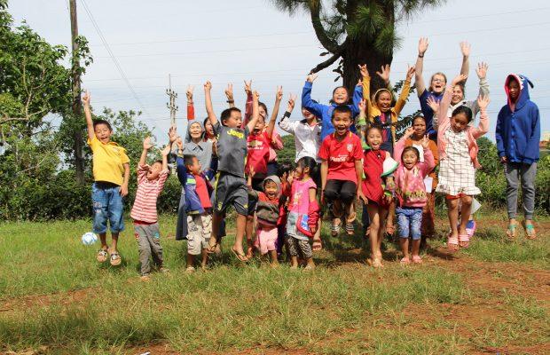 Les enfants du km42 ©Marion Bernard