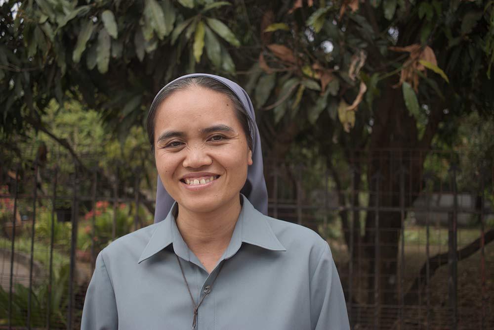 Soeur Latsamy, responsable de programme au Cambodge