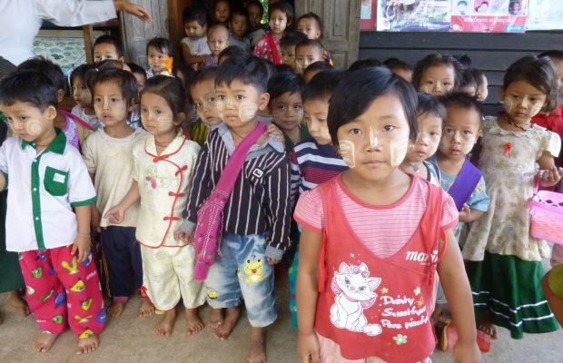 B-2782 Projet Draw me a Bike et B-2621 Soutenir les maternelles Montessori de Birmanie
