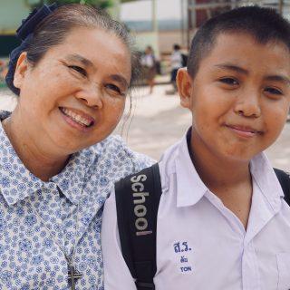 Soeur Lakana, responsable de programme en Thaïlande