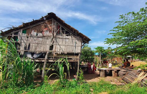 Cambodge Rénovation de la maison de F-105620 CHAEM Phearom5