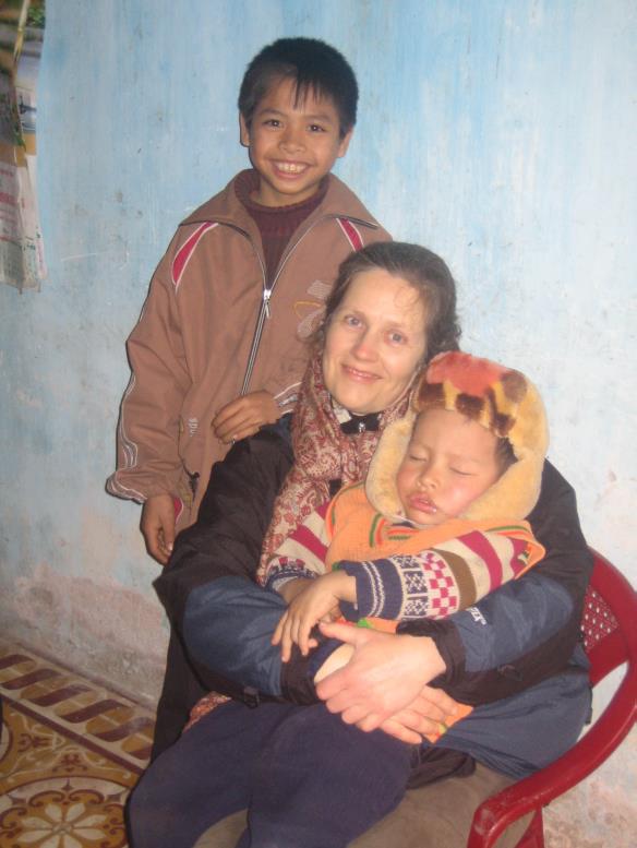 Yolaine, Luong et son petit frère