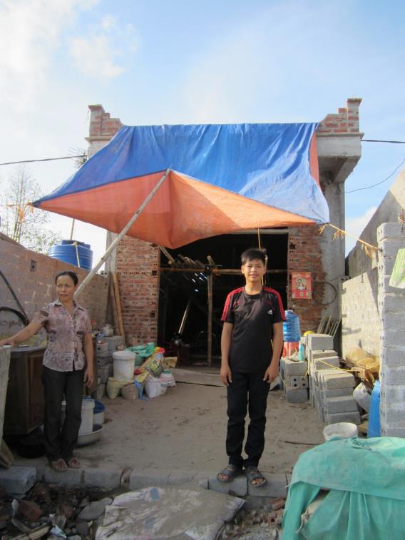 Luong et sa maison