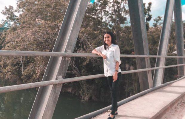 Kariza, filleule diplômée aux Philippines