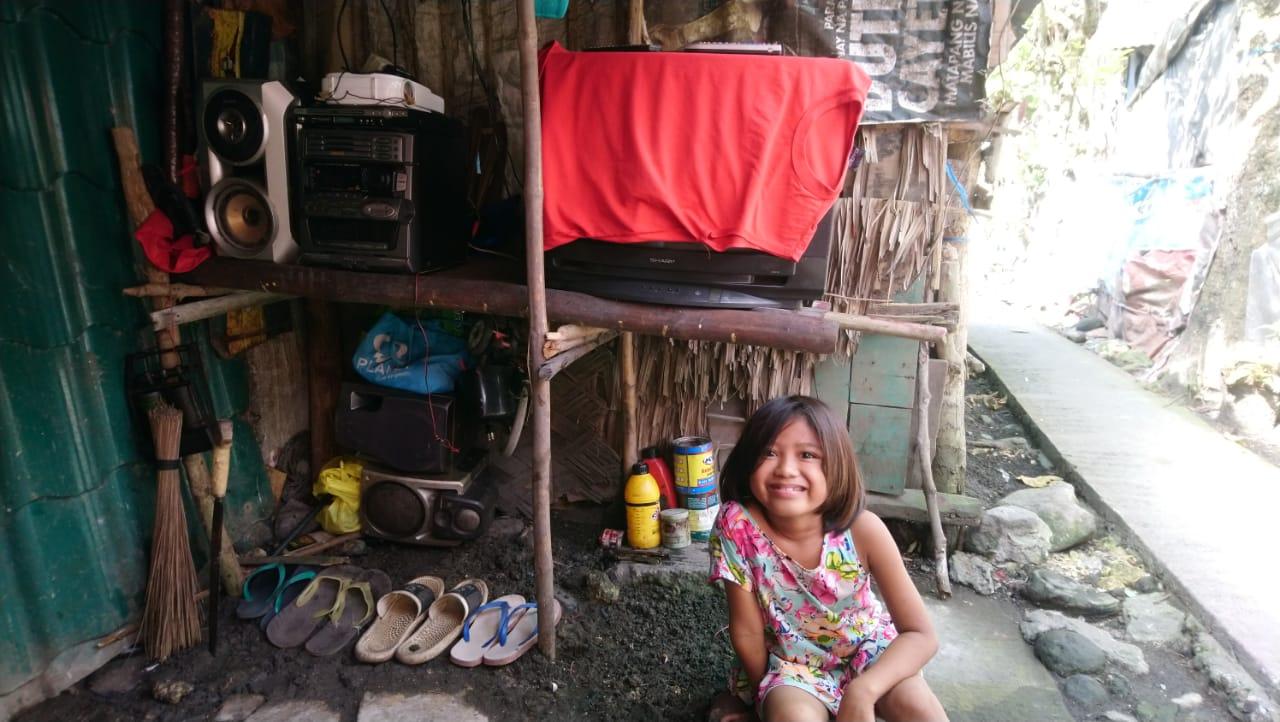 Visite à une filleule philippine