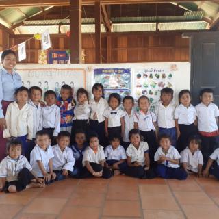 Cambodge maternelles de banteay chmar