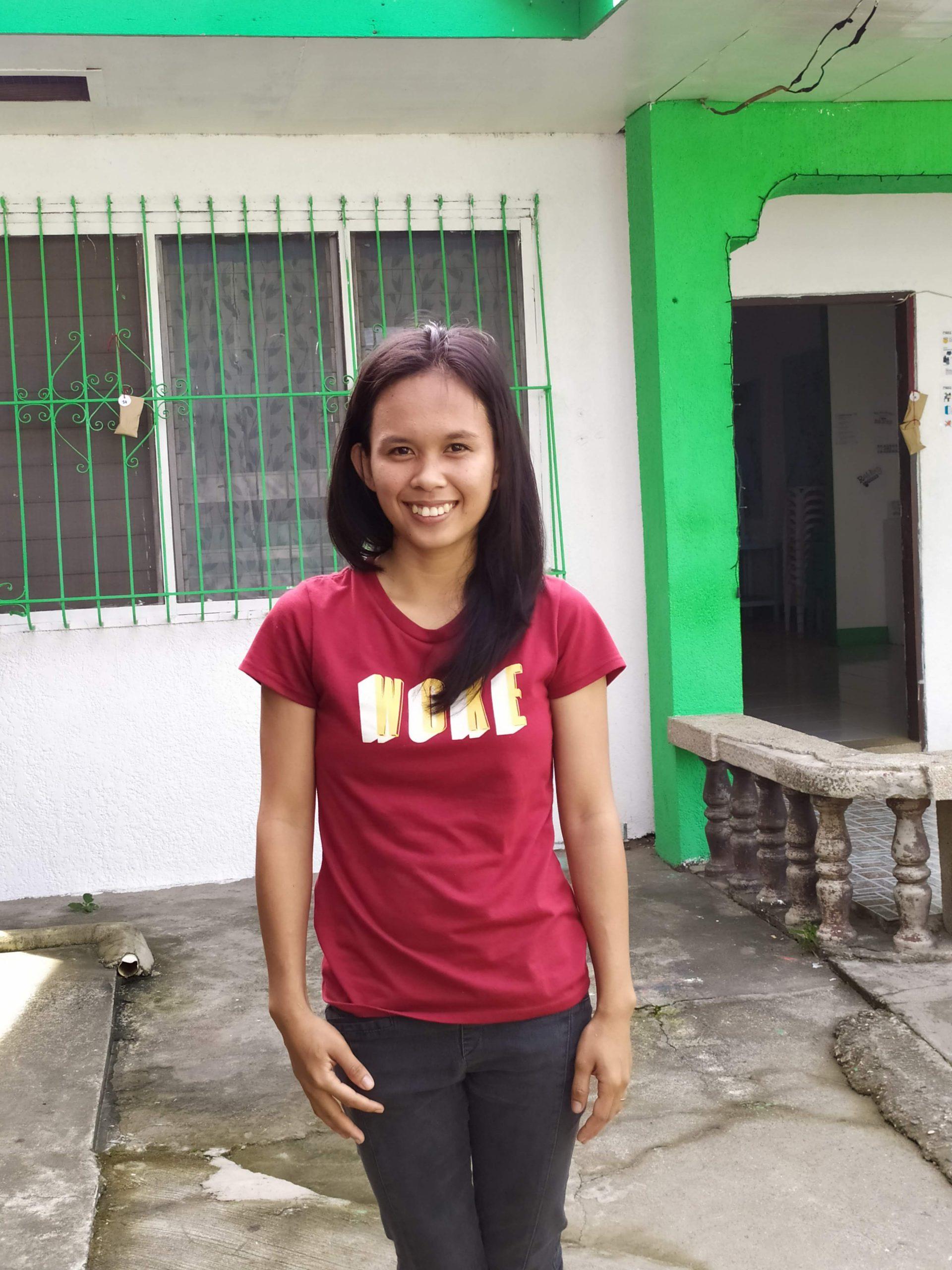 Raiza, filleule philippine