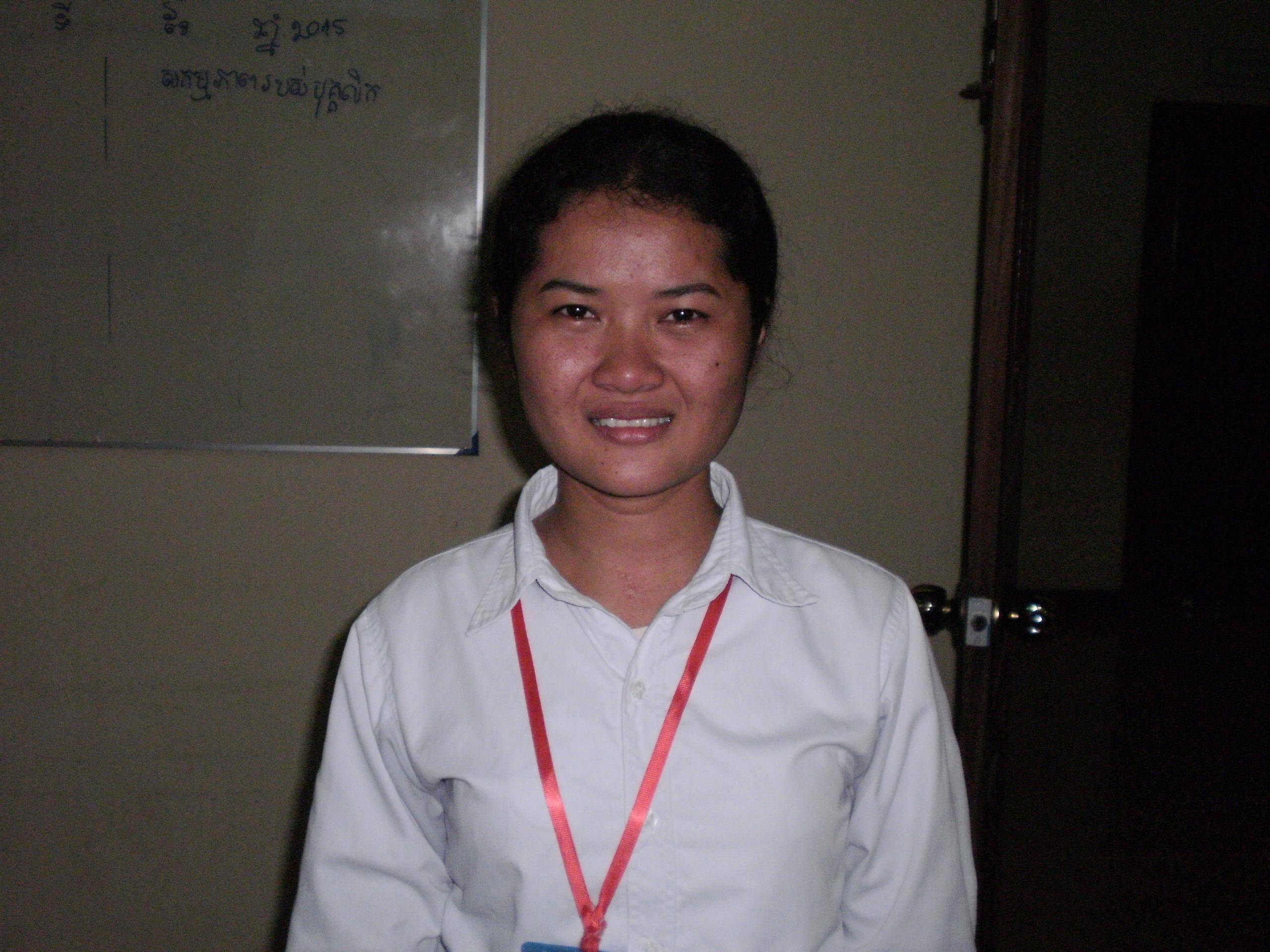 Chenda, la filleule cambodgienne de Mireille