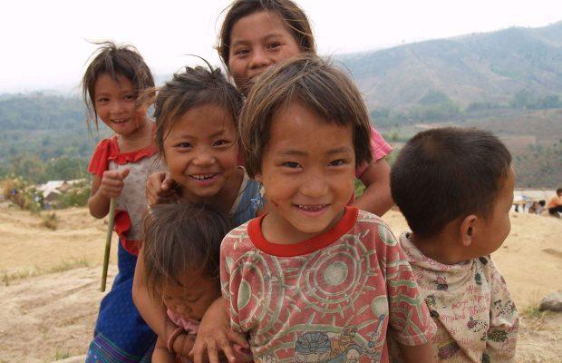 Enfants Hmong de Thaïlande ©Antoine Besson