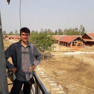 Philippe au centre de Banteay Chmar