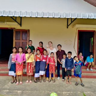 Roland, Volontaire au Laos