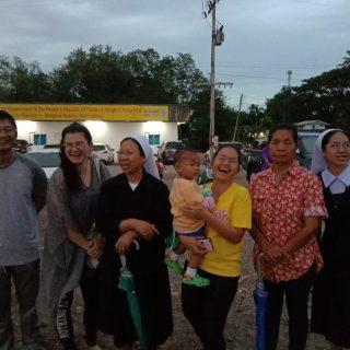 Victoria est volontaire en Thaïlande
