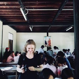 Manon, volontaire en Birmanie