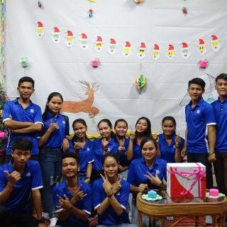 Agathe est volontaire au Cambodge