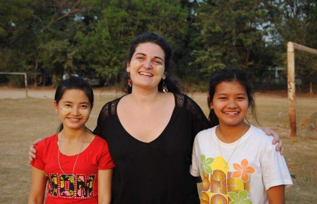 Maylis, Volontaire en Birmanie