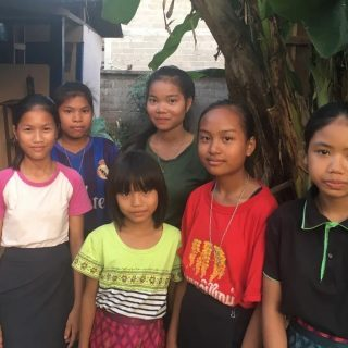 Construction de sanitaires pour foyer des filles de Houay Peck au Laos
