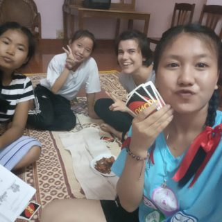 Clotilde, Volontaire au Laos