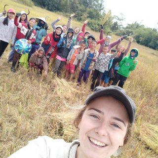 Clemence, Volontaire Bambou au Laos