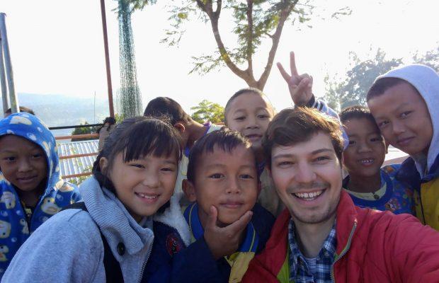 Martin en mission en Thaïlande