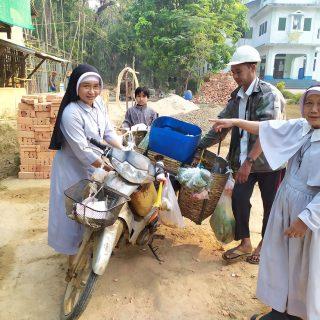 Responsables locaux en Birmanie