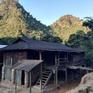 Maison d'un filleul en Birmanie