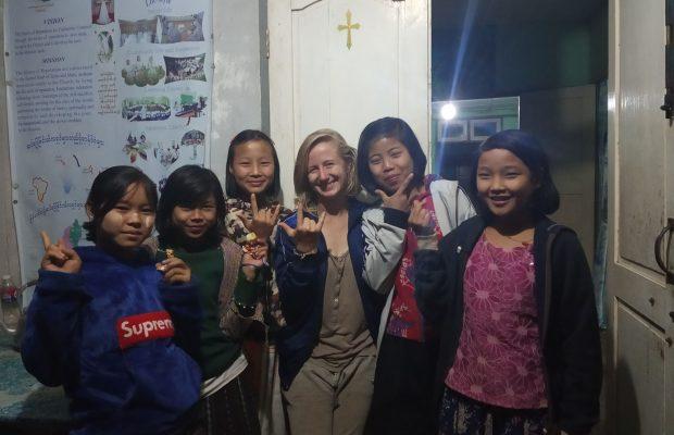 Camille, Volontaire en Birmanie