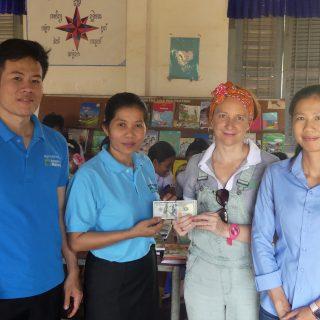 Bernard et Axelle au Cambodge
