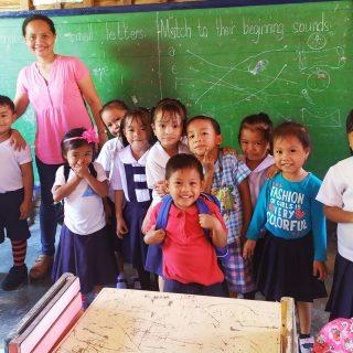 Rénovation de la maternelle de Campokpok aux Philippines