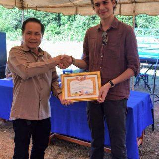 Stanislas Volontaire Laos