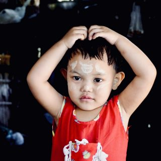 filleul en Birmanie