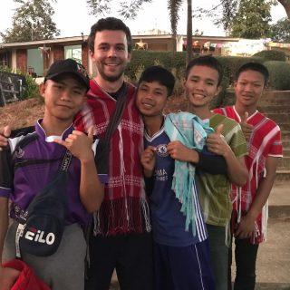 Baptiste, volontaire en Thaïlande