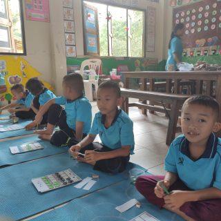 Baptiste est volontaire en Thaïlande