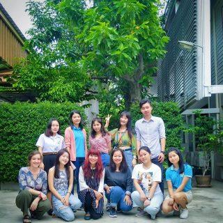 Etudiants à Bangkok