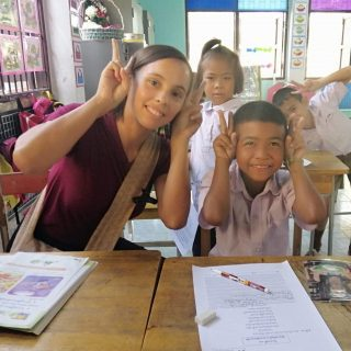 Alizé au service des enfants de Thaïlande